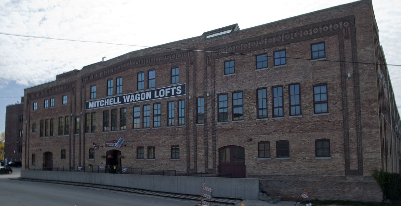 the old Mitchell Lewis Wagon Works. Racine WI. 2014