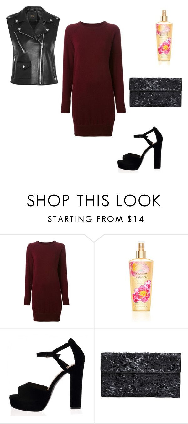 """#lookgirl1108"" by polly2003-2003 ❤ liked on Polyvore featuring Maison Margiela, Victoria's Secret and Maje"