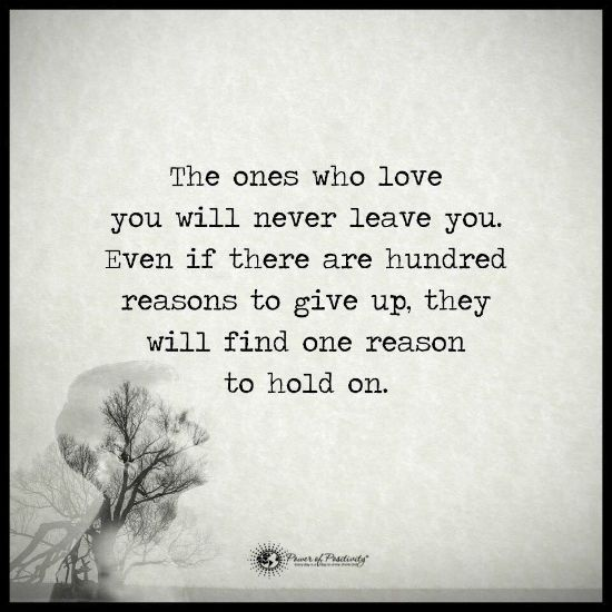love you and leave you
