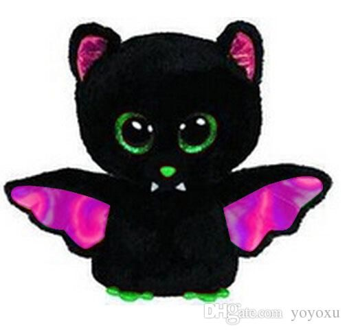 New TY Plush Animals Beanie Boos Halloween Igor - Bat 15cm 6   Ty Big Eyed  Stuffed Animal Cute Soft Toys for Children Kids Gift Online with   6.81 Piece on ... 8e9b42b161a4