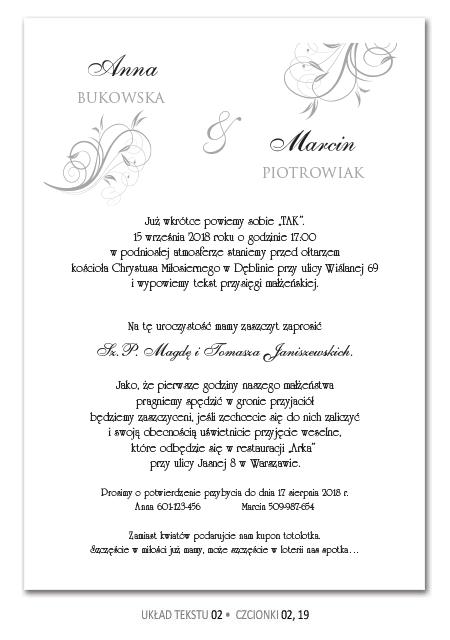Zaproszenia Slubne Teksty Wedding Invitations Wedding Wedding Inspiration