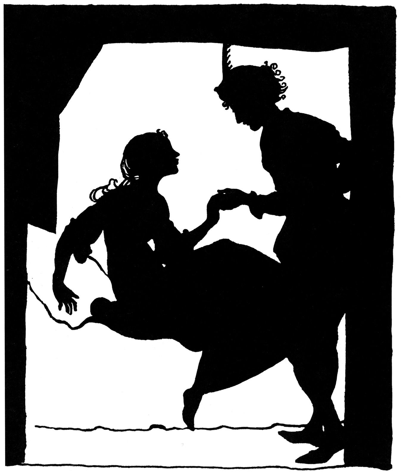 """The Sleeping Beauty"" illustrated by Arthur Rackham"