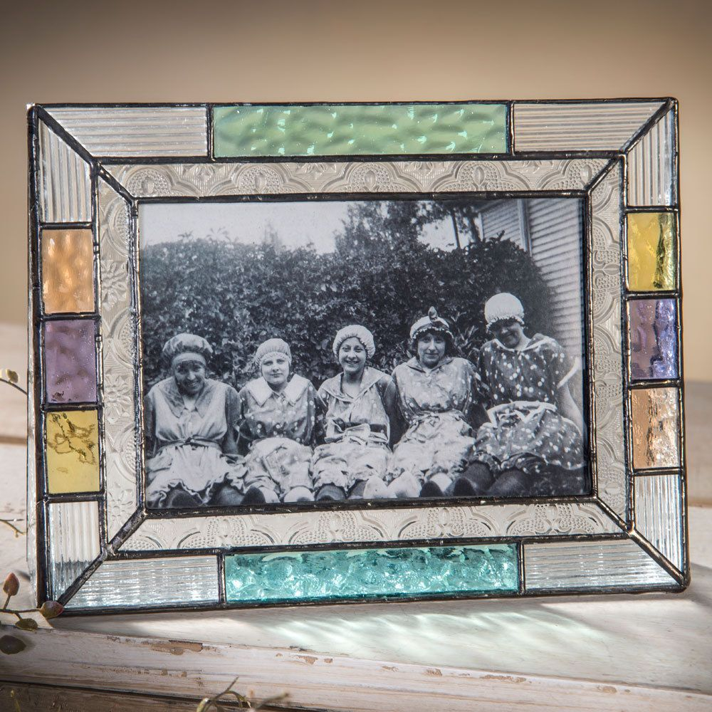 J. Devlin Pic 372-46H 4x6 Horizontal Multi Color Stained Glass ...