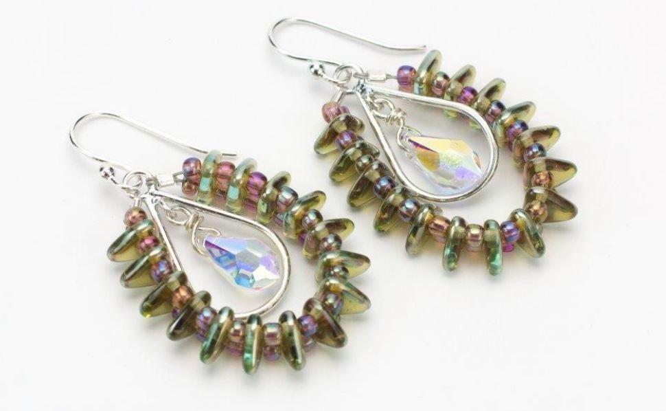 How to Make Earrings: 5 Wonderful Wire Earrings | Diy earrings, Wire ...