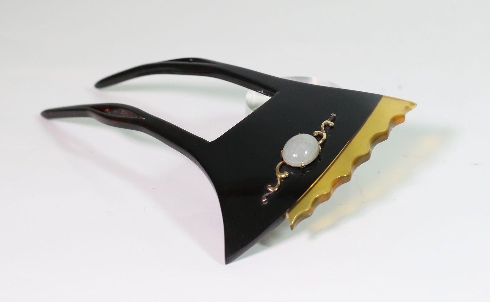 "Japanese ""Kanzashi with a stone"" ornamental hairpin 簪/s11174ca | eBay"
