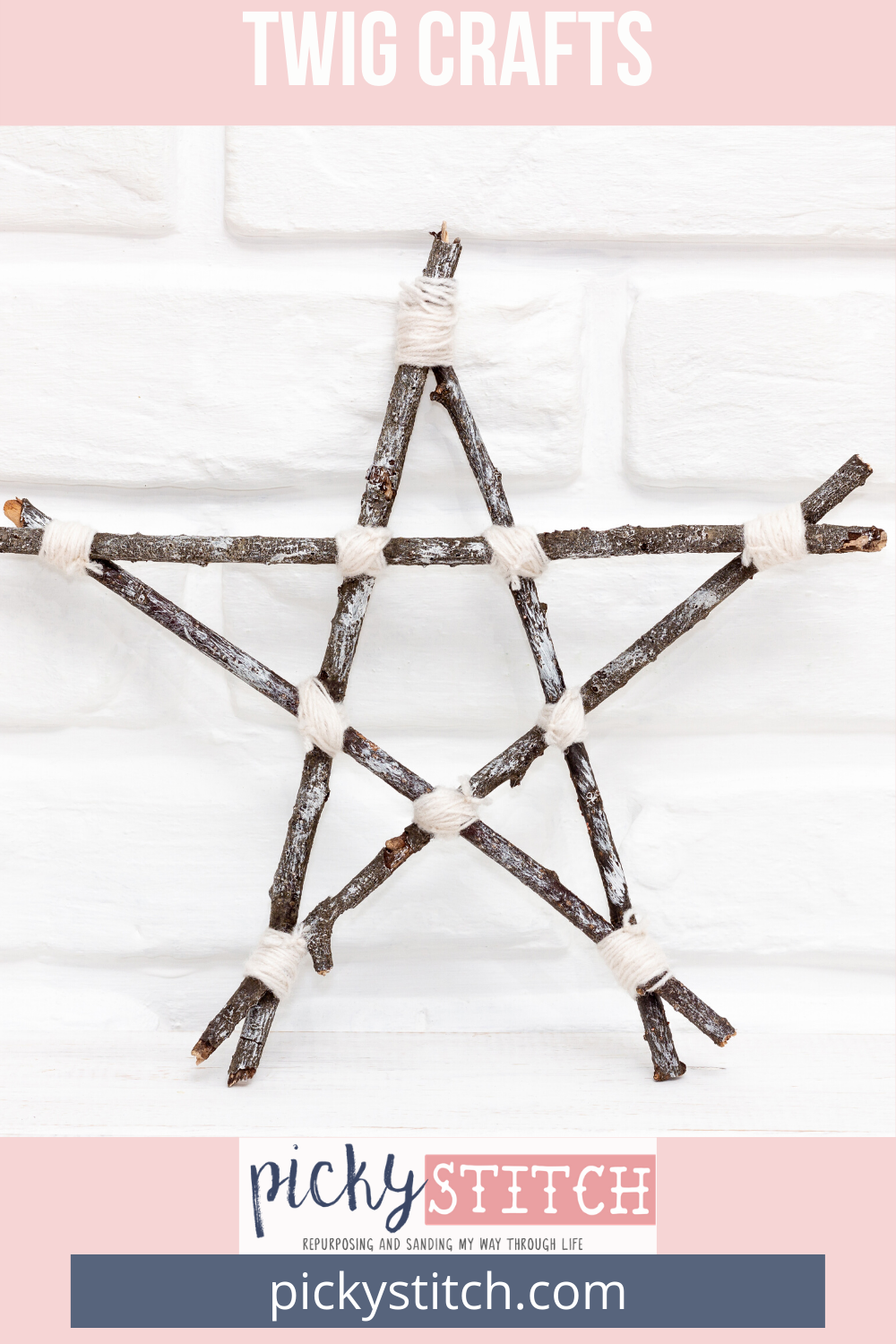 Pick Up Twigs To Make These Crafts