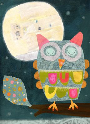 Midnight Owl by Amy Schimler