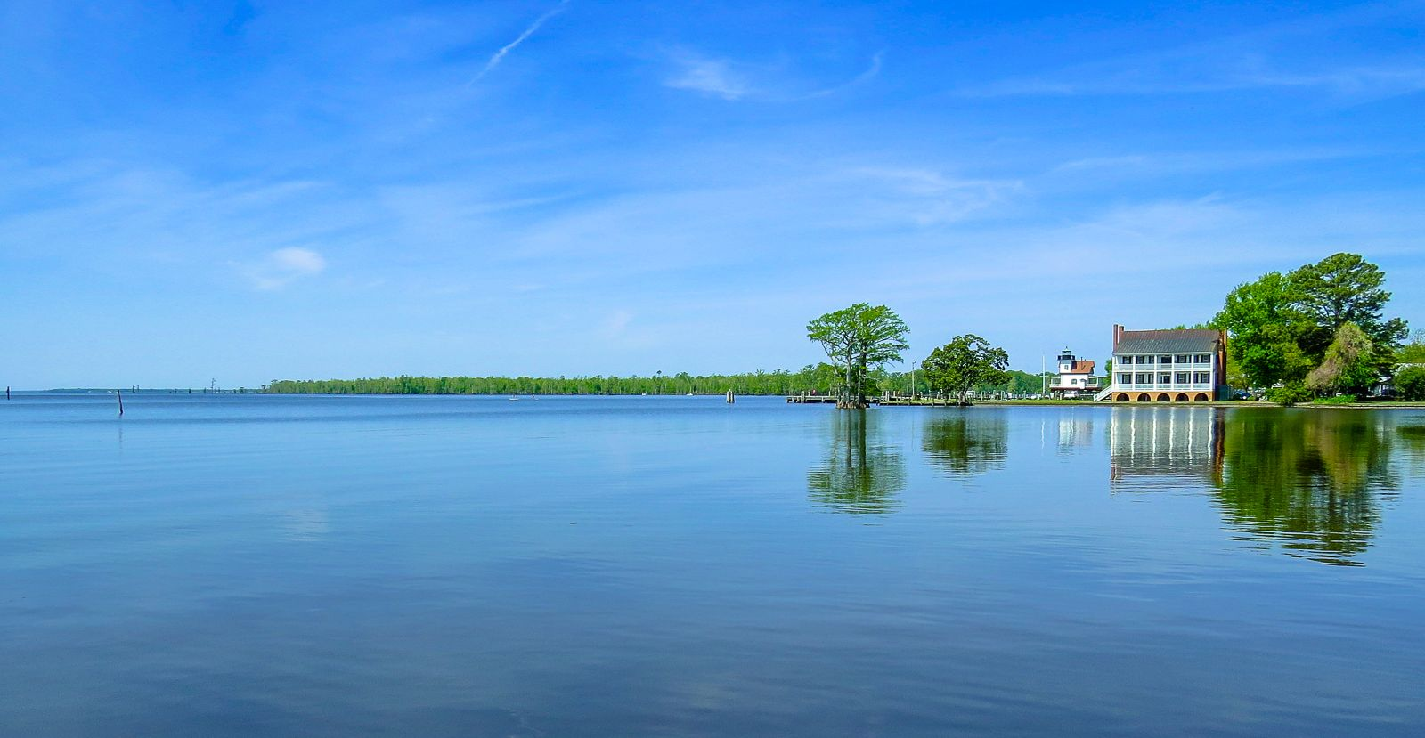 Picture Taken From The Waterfront Of Edenton Nc Beach Scenery Coast Landscape