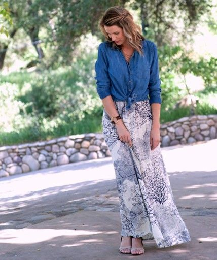 Shannon Hearts! ....Signature Henri Lou bracelet paired with a fabulous maxi skirt.