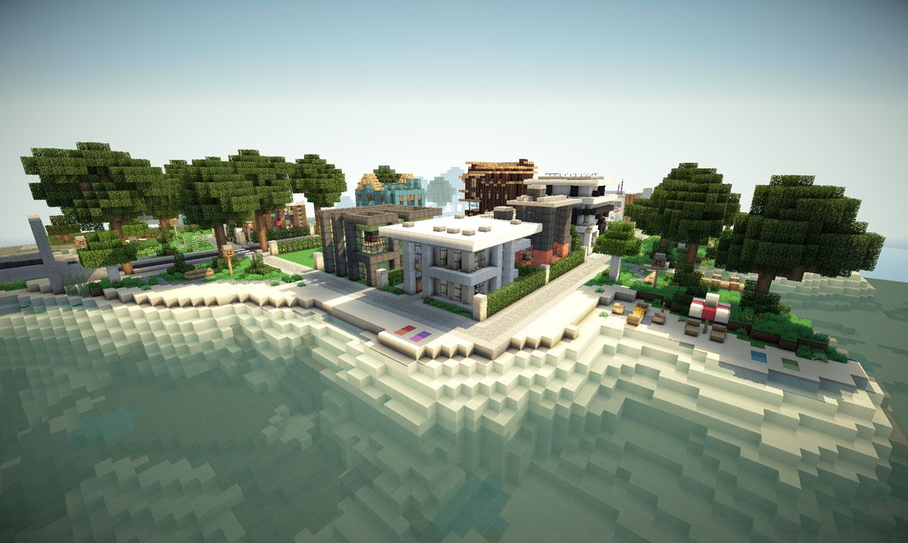Keralis simple modern house modern house 1000 ideas about minecraft keralis on pinterest gumiabroncs Images