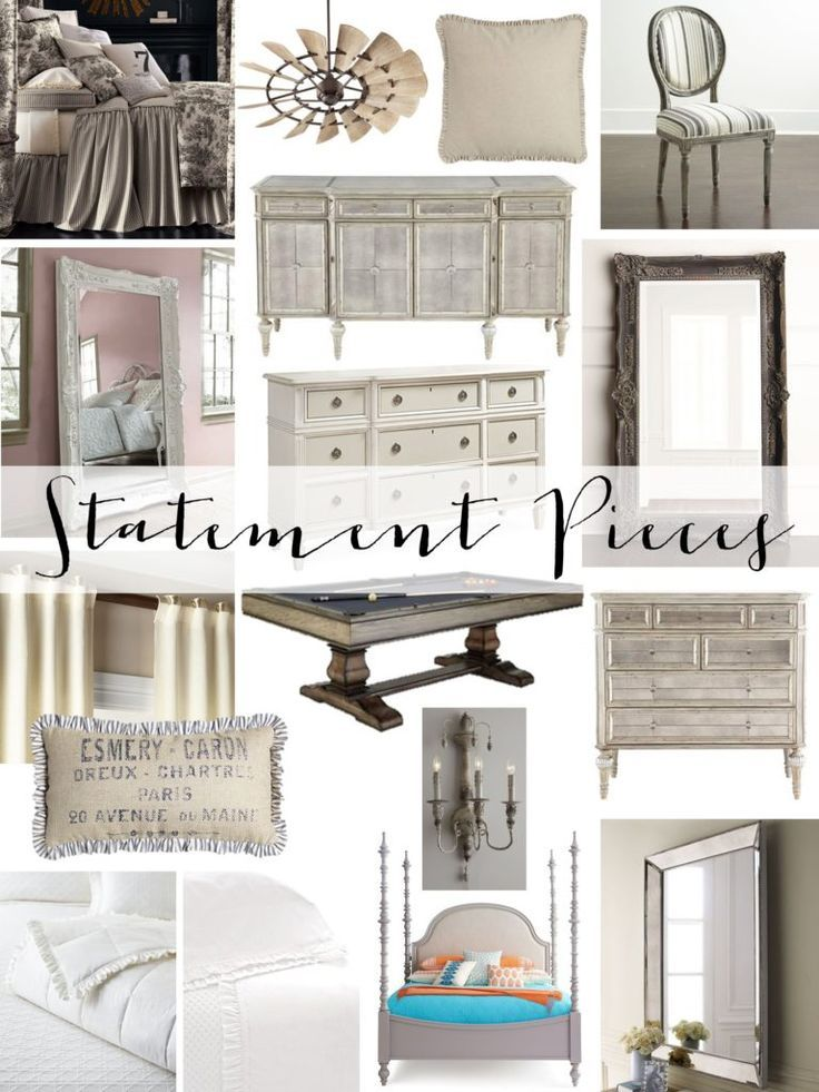 One Of My Design Tips Is Decorating With Statement Pieces You Can Do A Budget Friendly Room Add 1 Sign Decor Farm House Living Room Farmhouse Style Bedrooms #statement #piece #for #living #room