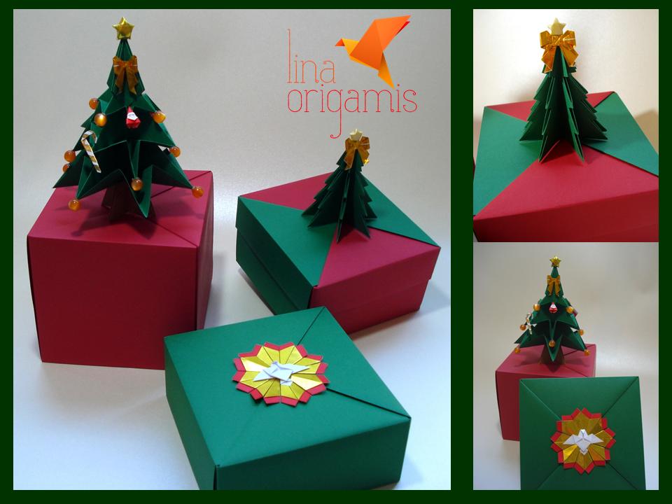 Lina Origami: Origamis para o Natal
