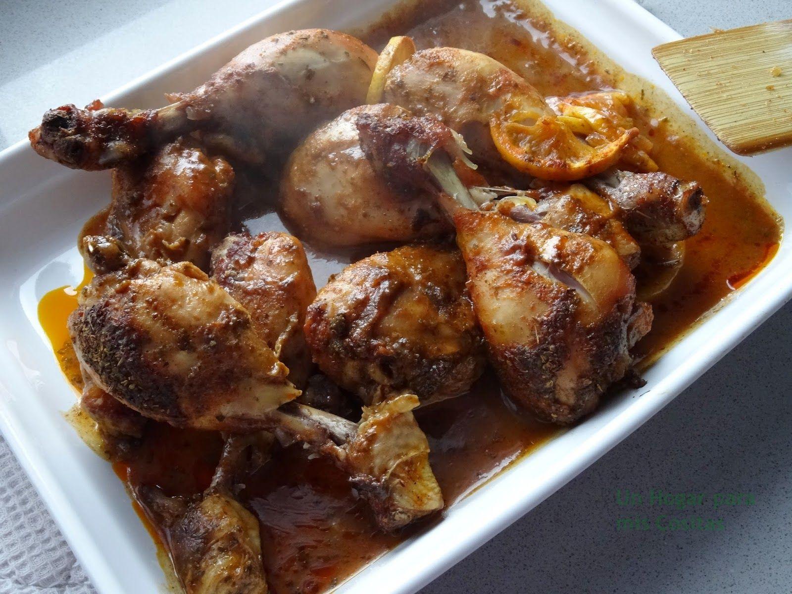 Un Hogar para mis Cositas: Pollo a la Campesina