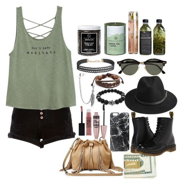 """""""I like This5SOS inspired"""" by mehbaegrier ❤ liked on Polyvore featuring River Island, Ray-Ban, Humble Chic, AMBRE, Jessica Simpson, Diane Von Furstenberg, Bling Jewelry, West Coast Jewelry, Maybelline and Casetify"""