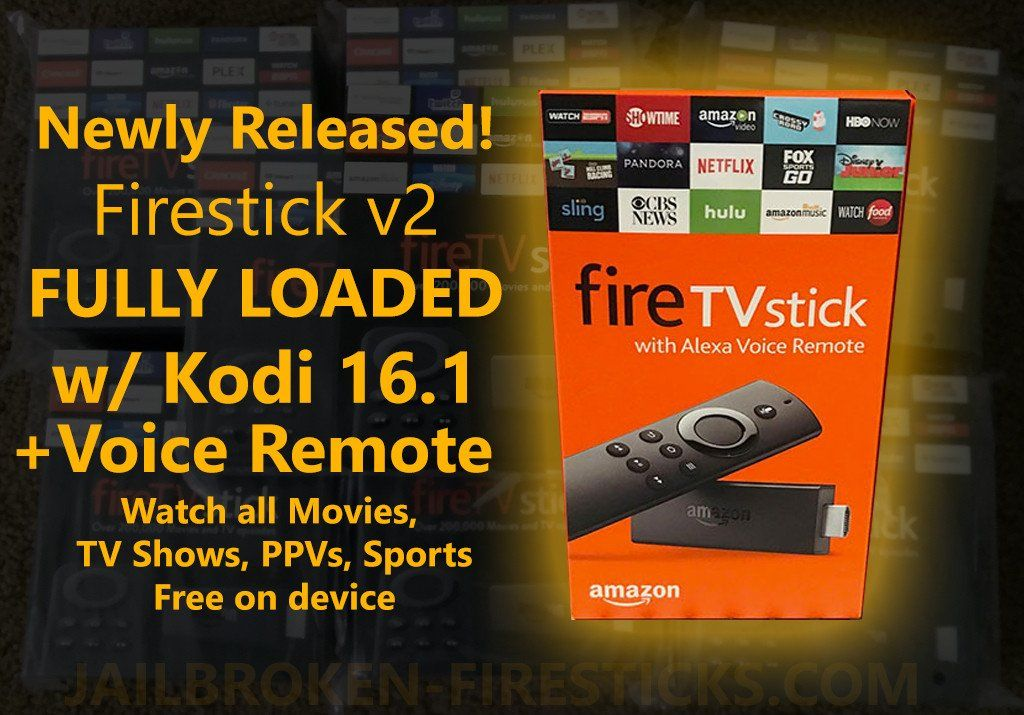 Amazon Fire Stick with Kodi 16.1 FULLY LOADED with SPINZ