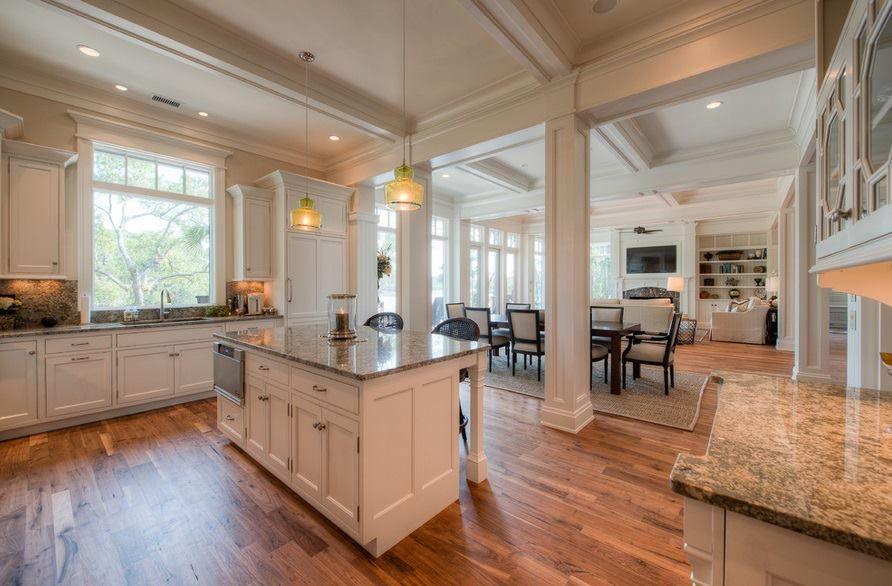 re-hab open floor kitchen great room | Home Sweet Home | Pinterest
