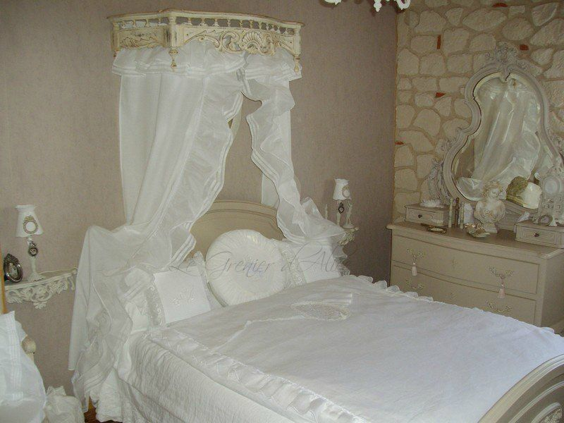 chambre shabby chic et romantique photo cliente le grenier d alice d co shabby chic. Black Bedroom Furniture Sets. Home Design Ideas