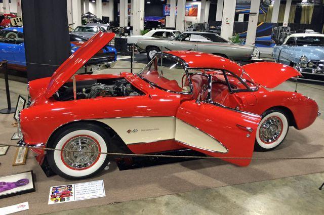 World Of Wheels Boston >> Boston World Of Wheels Car Show 1957 Chevy Corvette Car Stuff