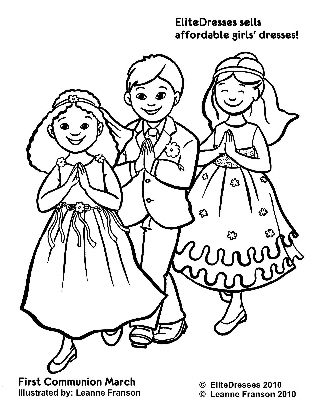First Communion Coloring Pages By Bianca Communion First