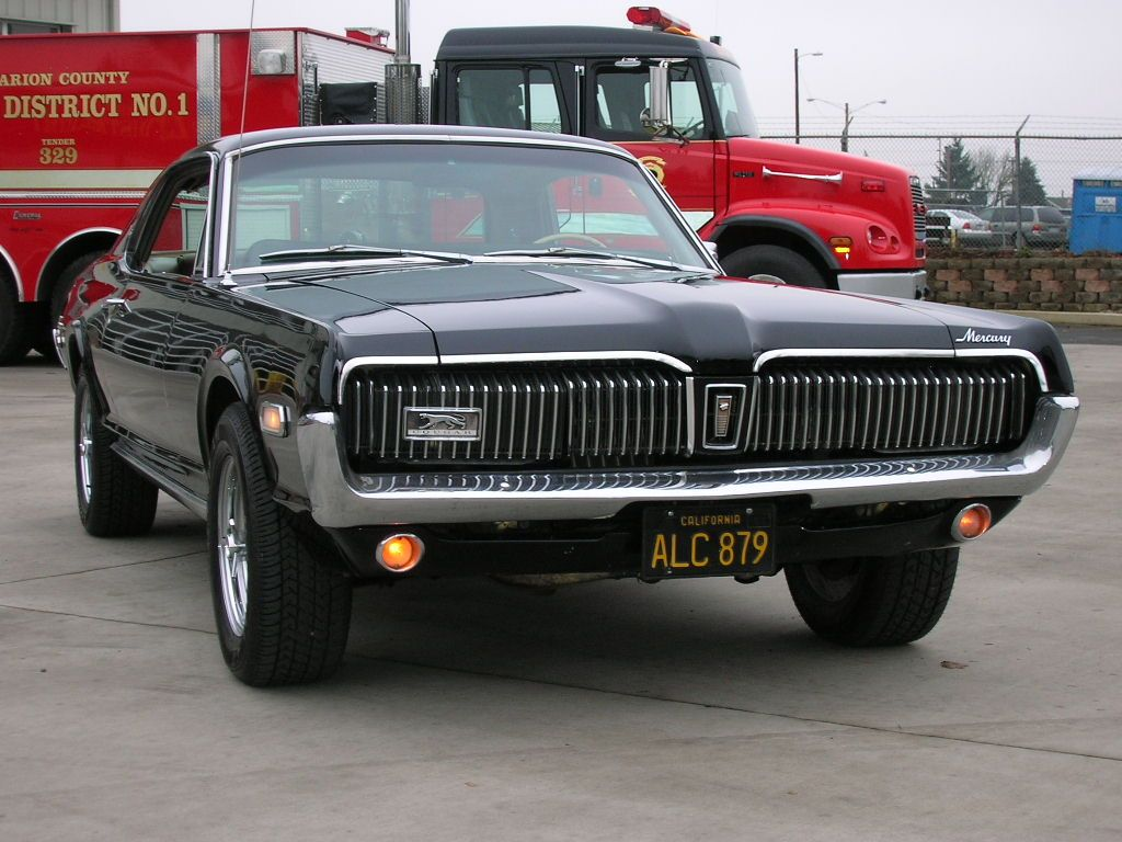 1968 Mercury Cougar A Clic That I Wish Had Kept Sequential Taillights