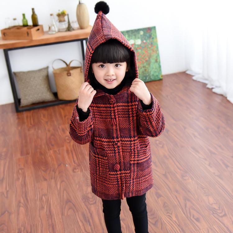 c2969ce4d9ad Babies Girls Hoodie Vintage Stripes Crochet Coats Outwears Western ...