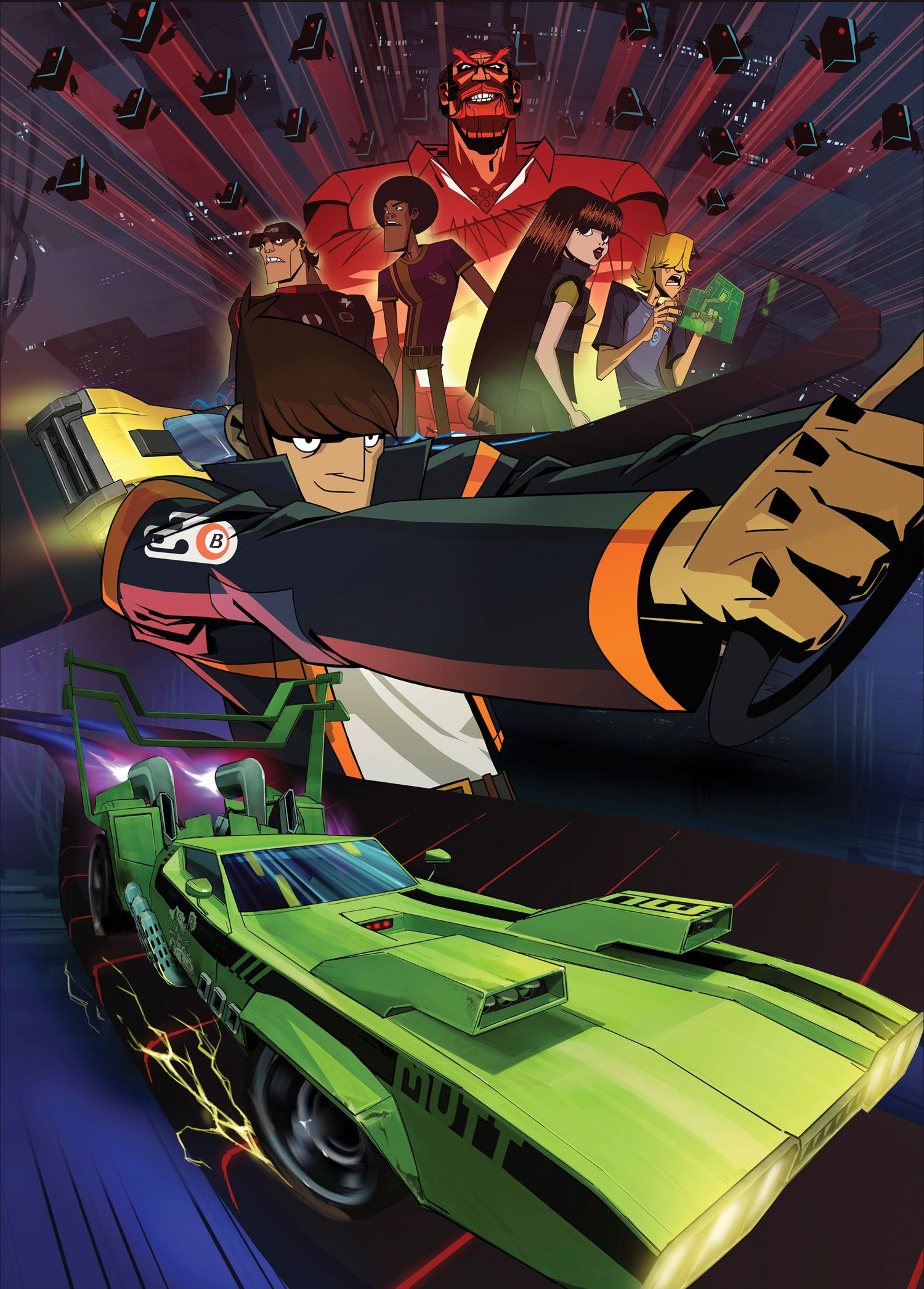 Motorcity This series that was on the Disney XD Channel
