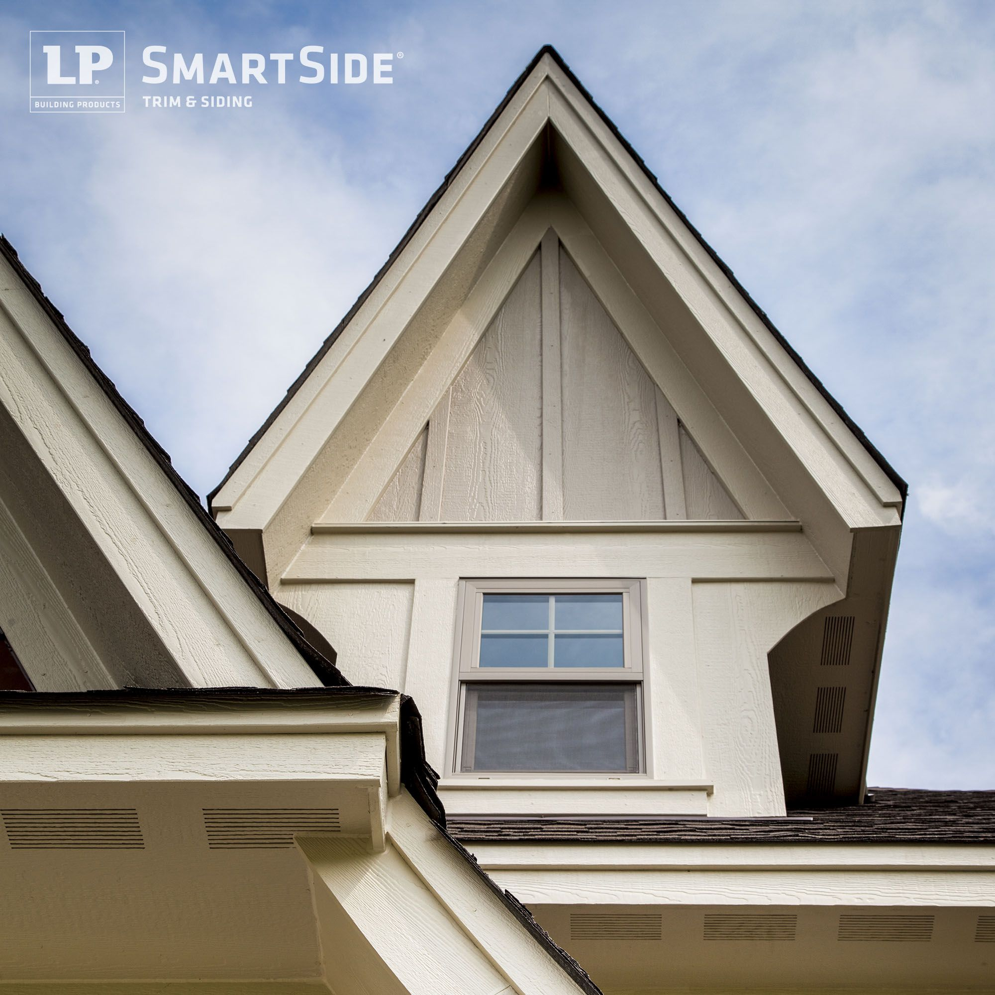 Lp smartside trim soffit and panel siding form a dynamic for Lp smartside color strand
