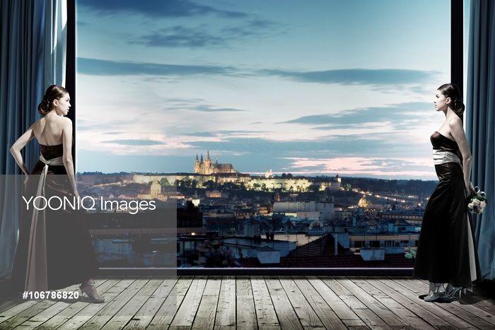 Yooniq images - 컴퓨터그래픽,cg,3d,합성,포토합성,사진합성,프라하성,프라하,체코,유럽,해외,서양인,외국인,유럽인