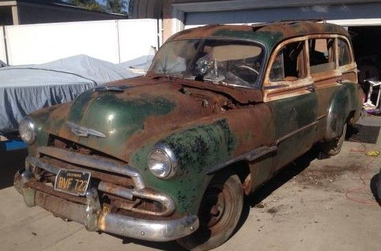 1951 Chevrolet Tin Woody: Has Rust? | Barn Finds ...