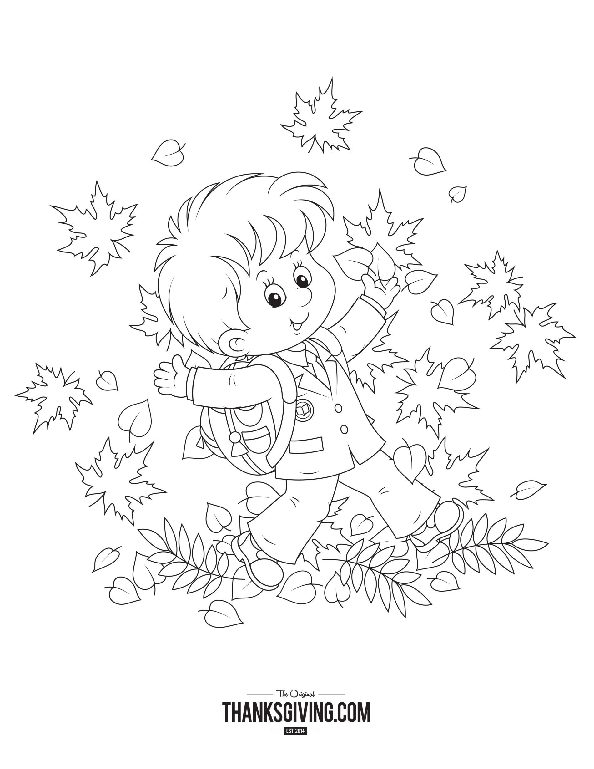 - Thanksgiving Coloring Book Pages For Kids Thanksgiving Coloring
