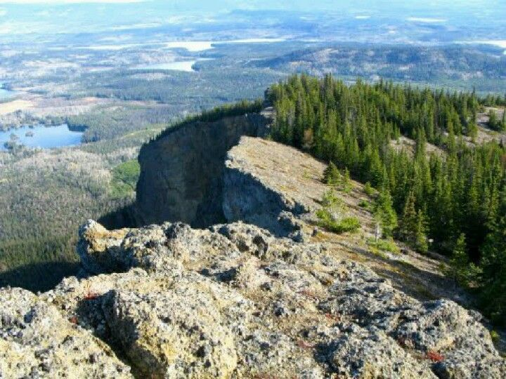 China Nose Mountain Burns Lake Bc Burns Lake Canada Towns Diverse Landscape