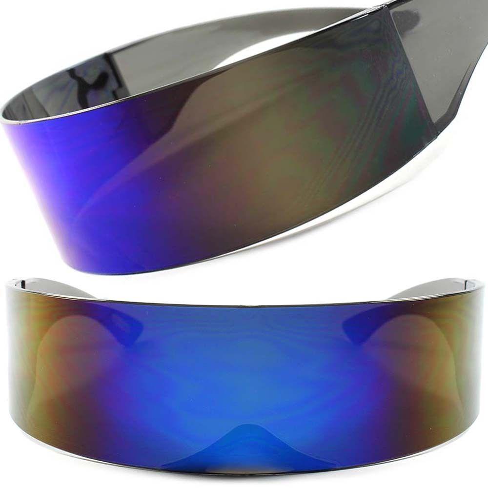 c28a084899d1 Funky Sci-Fi Robotic Star Trek Futuristic Party Cosplay Costume Sun Glasses  F68  KISS  Futuristic