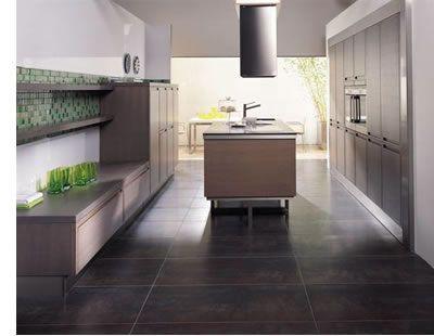 Kitchen Floor Tiles Modern. contemporary kitchen with checked black ...