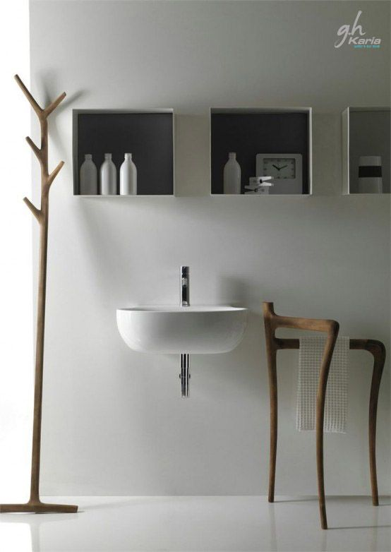 minimalist bathroom