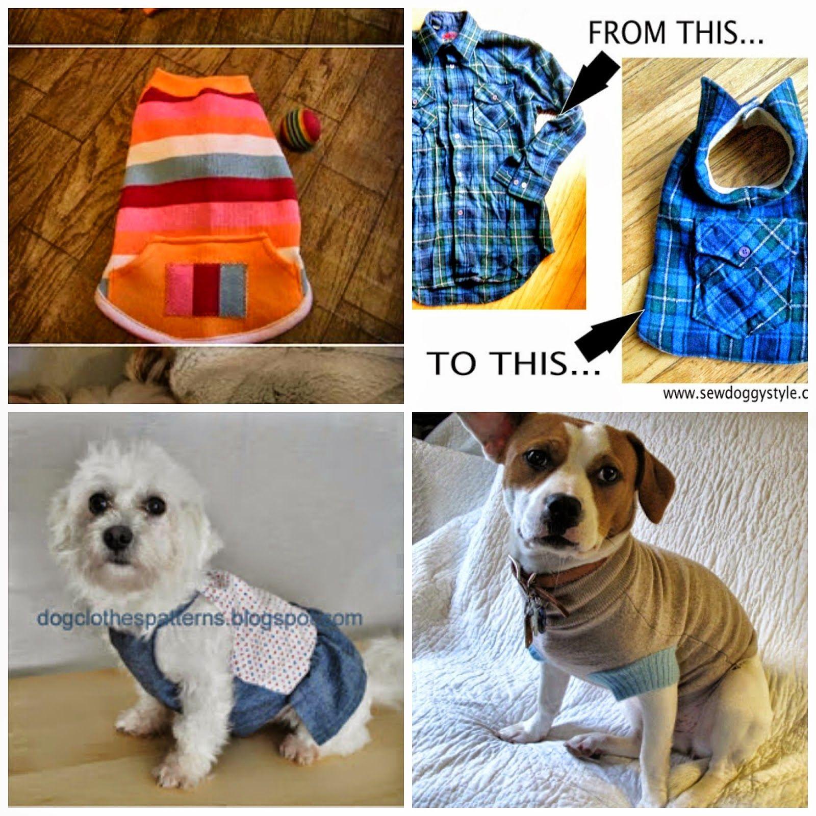 Come fare vestiti per cani - 4 tutorial con cartamodelli gratis