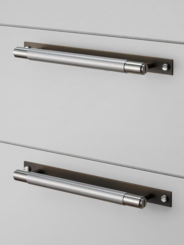 CABINET PULL BAR / SMOKED BRONZE / STEEL Buster + Punch   unique ...