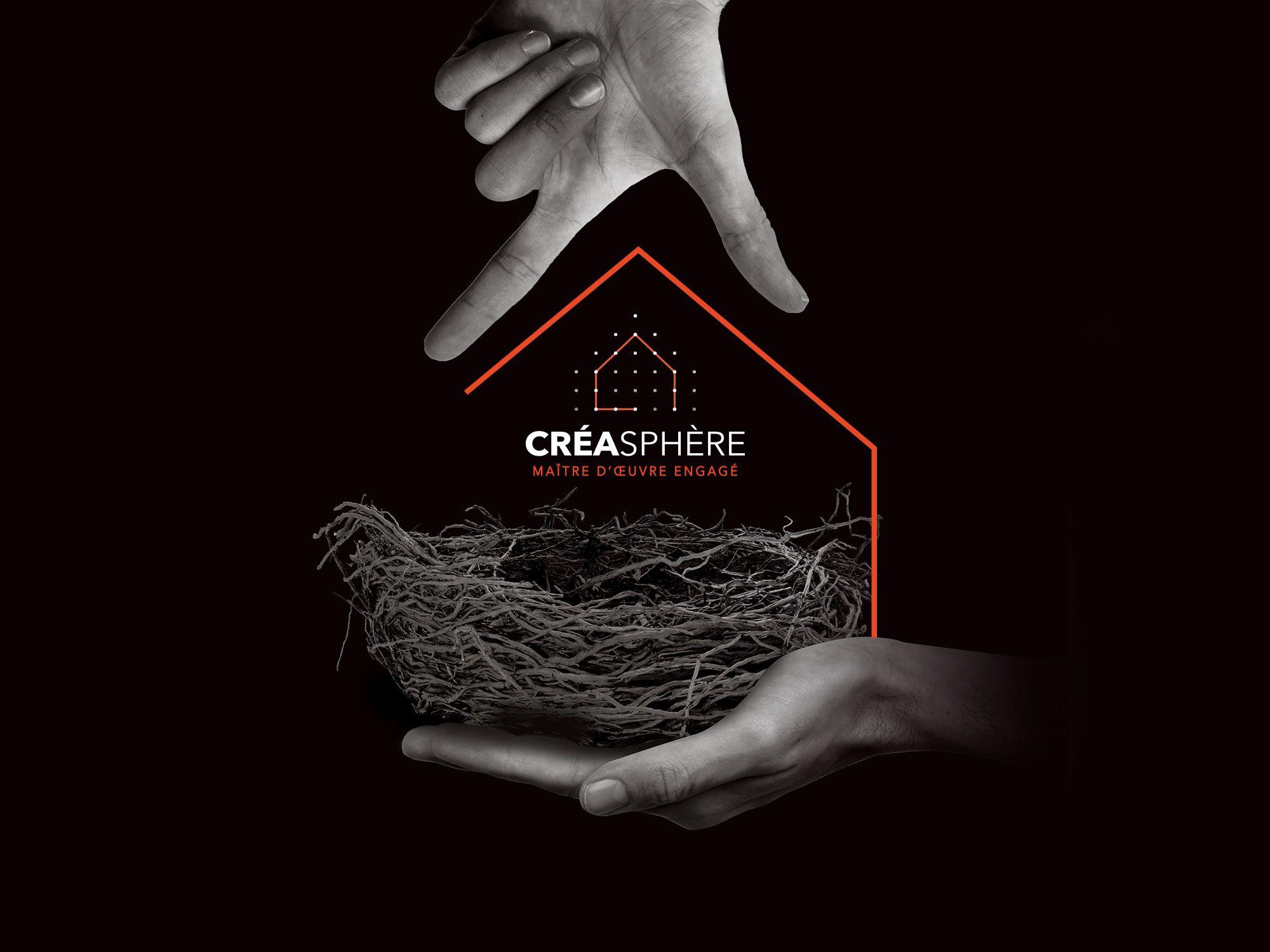 Entreprise Maitrise D Oeuvre création du logo et du visuel de campagne de créasphère