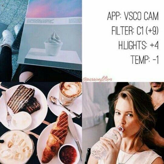 Vsco Cam Filter Settings For Instagram Photos Filter C1 Vsco Cam Filters Vsco Photography Vsco Filter