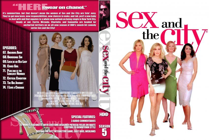 Sex and the city picture extended cut w slip cover new sealed dvd walmart sticker