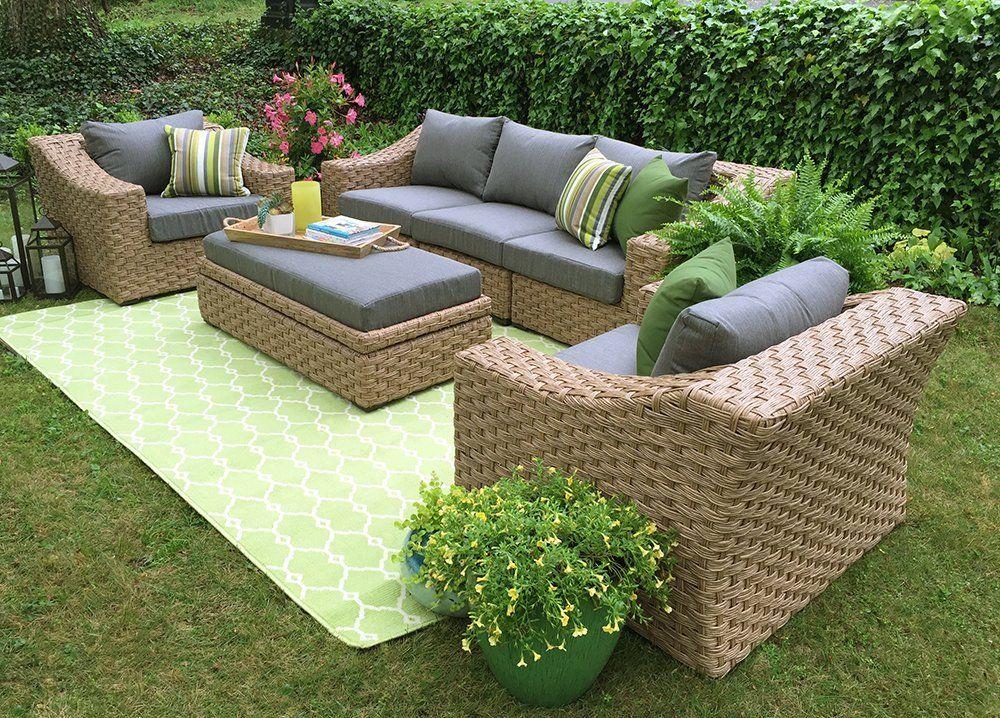 Garden Furniture Trends To 2019 Home Interior Design Ideas Outdoor Sofa Sets Deep Seating Outdoor Furniture