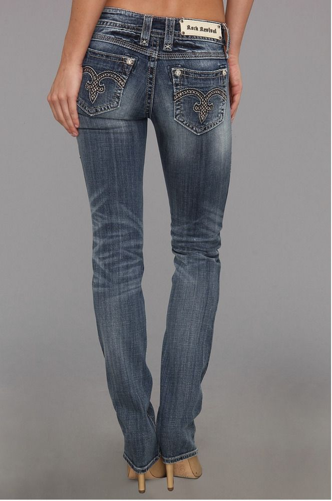 buy online 80d0a ee3f2 ROCK REVIVAL JEANS Sale Low Rise Alanis Straight Stretch ...