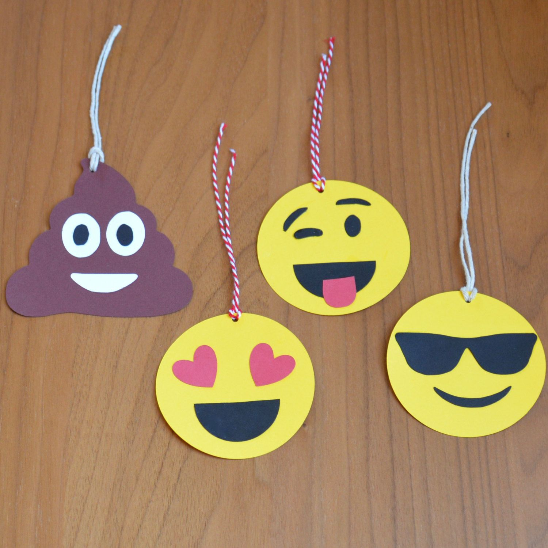 12 Emoji Gift Tags By Makemypartymine On Etsy Emoji Party
