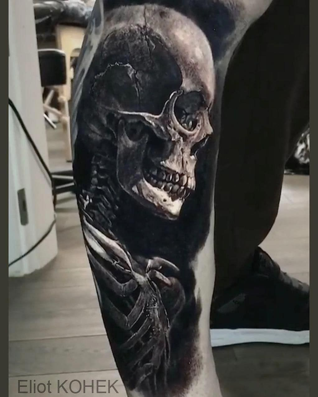 1a5bfe7c3 Tattoo done by @eliot.kohek member of @overkame_tattoo Tattoo sponsor  #Sleevetattoos