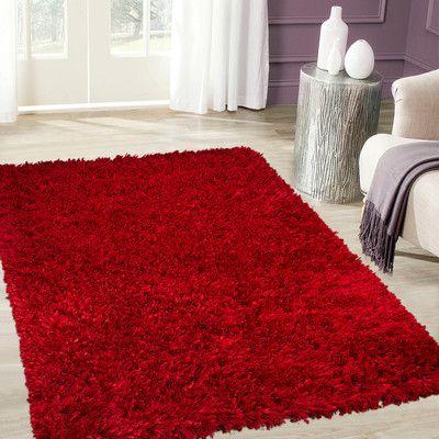 Handmade Red Area Rug