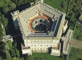 Palazzo Farnese of Caprarola - Rome. Act 2. Tosca