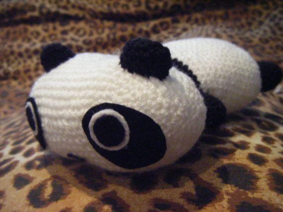 Lazy panda plush crochet amigurumi Tarepanda kawaii pananda plushie ...