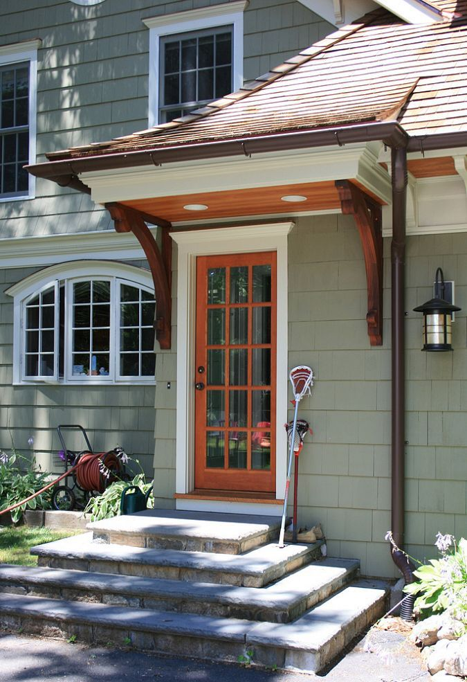 Cape Cod Renovated into Craftsman Style Home-details