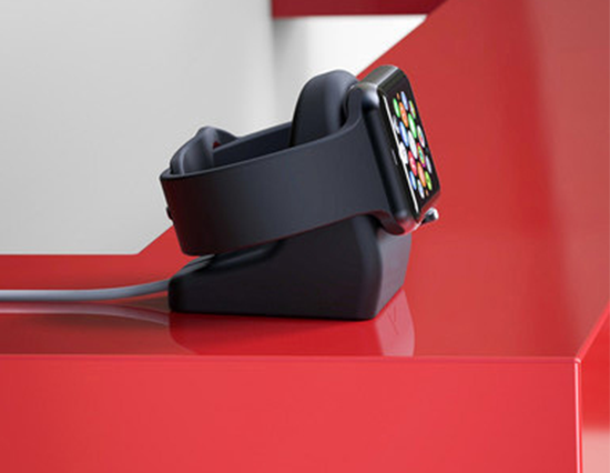 Silicone Charging Dock Stand for Apple Watch