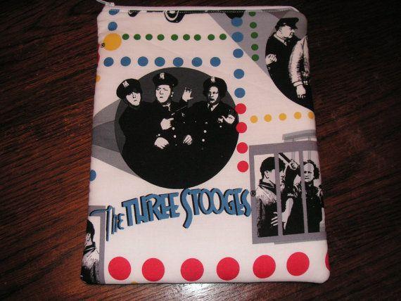 Three Stooges handmade zipper fabric iPad by alwaysamazingdesigns, $14.99