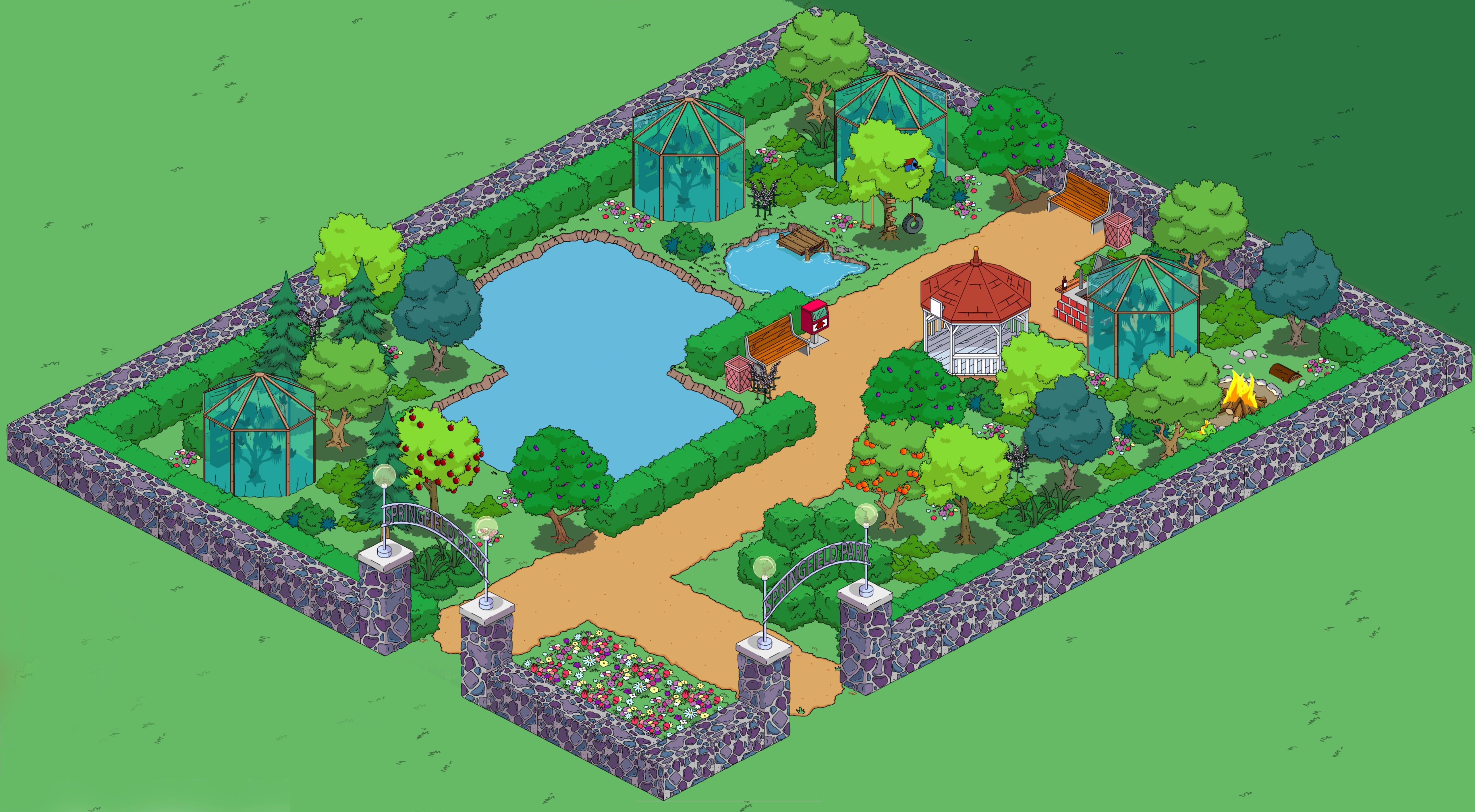 image result for simpsons tapped out waterfront house ideas rh pinterest com